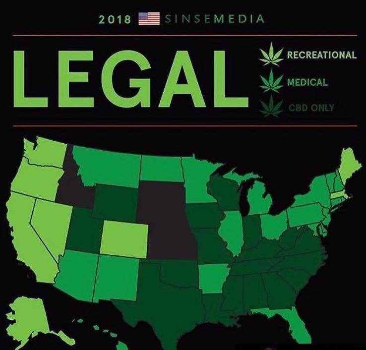 States' Cannabis Status