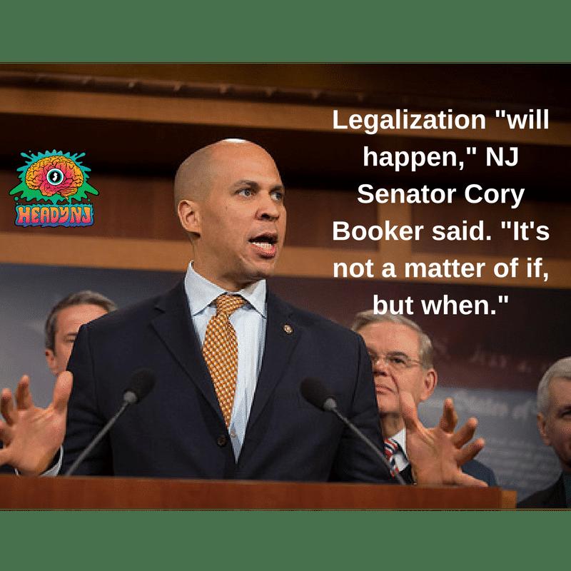 Booker | Cannabis Legalization Imminent