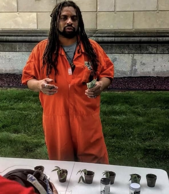 NJ Weedman Protests Cannabis Legislation