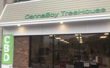 Storefront of CannaBoy TreeHouse