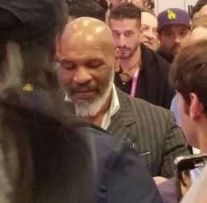 Mike Tyson at MJ Biz Con