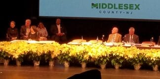 Murphy at Freeholder meeting