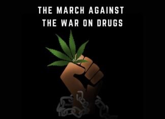 Cannabis protest, war on drugs